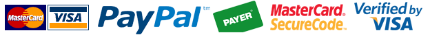 master cart visa paypal