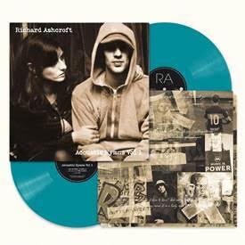 """ASHCROFT, RICHARD - ACOUSTIC HYMNS VOL.1 """"indie"""" exclusive turquoise vinyl (2LP)"""