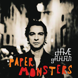 GAHAN, DAVE - PAPER MONSTERS Re-issue of 2003 album on Vinyl !!!! (LP)