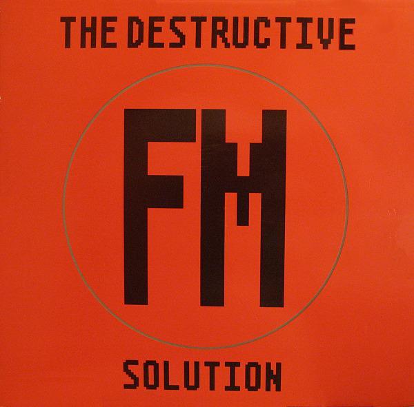 THE DESTRUCTIVE SOLUTION   rare Begian EBM/ New beat
