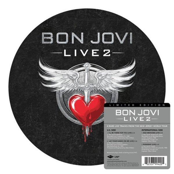 LIVE 2   Picture disc RSD edition
