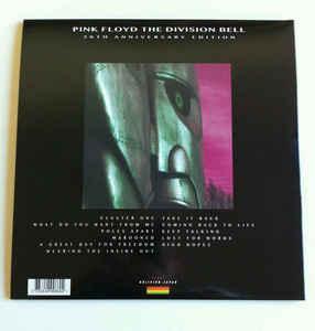 THE DIVISION BELL   Reissue, Gatefold sleeve, coloured vinyl and insert