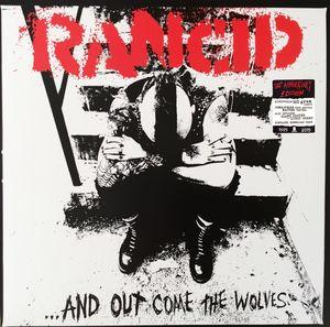 AND OUT COME THE WOLVES  Gold vinyl. 20th anniversary Ed.