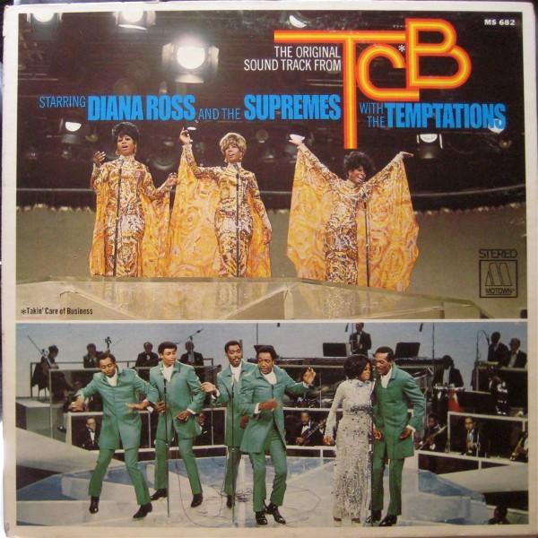 ORIGINAL SOUNDTRACK FROM TBC   great 1968 Danish pressing