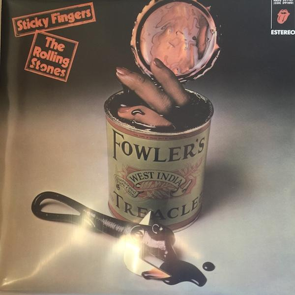 STICKY FINGERS   Spanish reissue with special sleeve