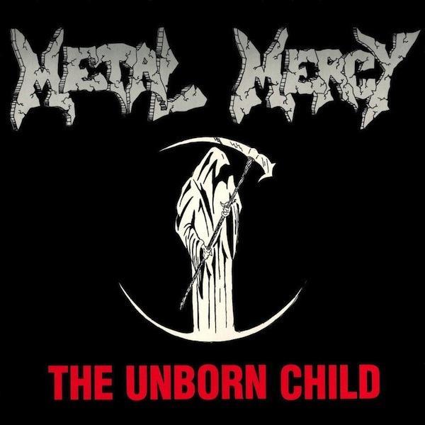 THE UNBORN CHILD   1989  Trash metal rarity, Unplayed copy