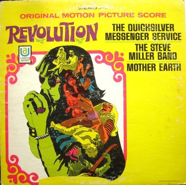 MOTION PICTURE SCORE  US original 1968 popsike album incl. Quicksilver Messenger Service, Steve Mill