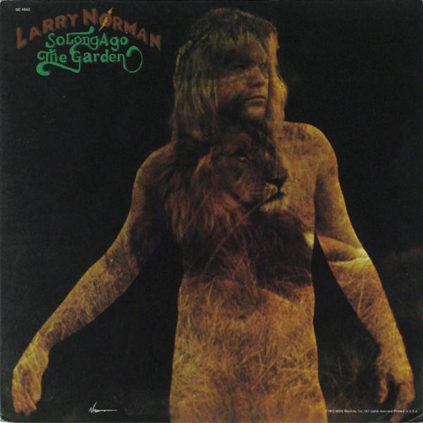 SO LONG AGO, THE GARDEN  US Original, 1973, gatefold sleeve