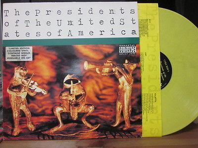 S/T     Original Yellow vinyl, EEC pressing, Rare