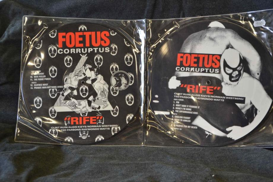 RIFE     Superrare, Picture disc, double-Lp
