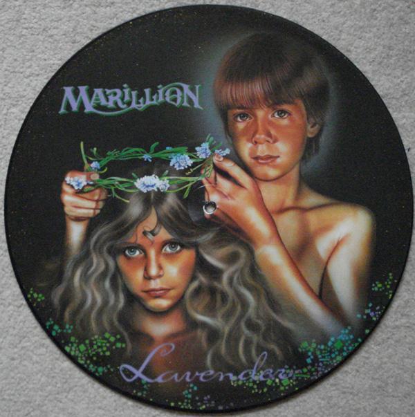 LAVENDER + 3     Picture Disc, Ex+