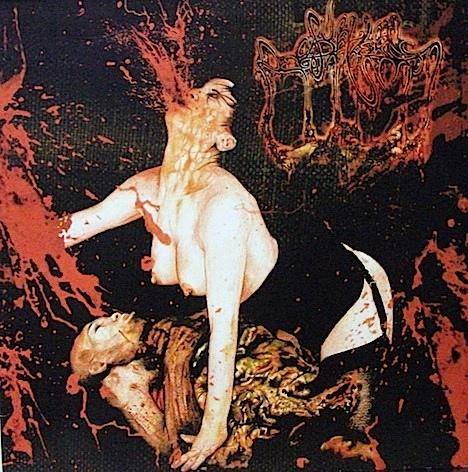 S/T  Extreme French death/grind metal, Bloodred vinyl