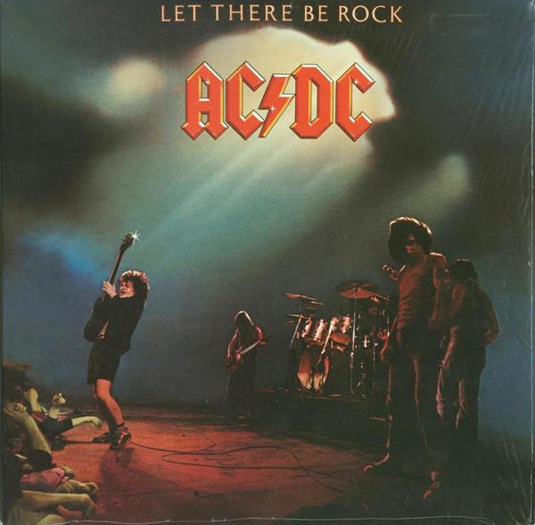 LET THERE BE ROCK  Remastered 180g reissue.