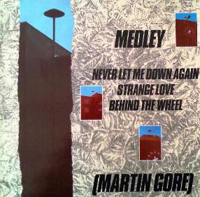 Medley - NEVER LET ME DOWN AGAIN  - STRANGELOVE - BEHIND THE WHEEL   DJ only Megamix, rare 1988