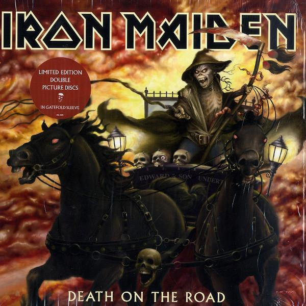 DEATH ON THE ROAD   2x Picture Disc.