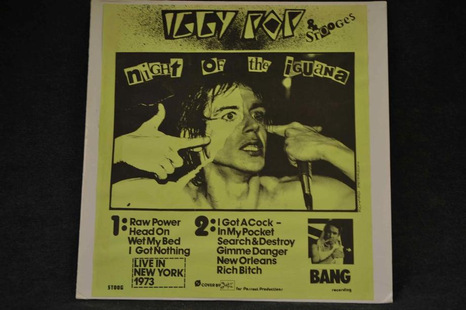 NIGHT OF THE IGUANA    Live NY 1973 Insert green cover, early live Ex-