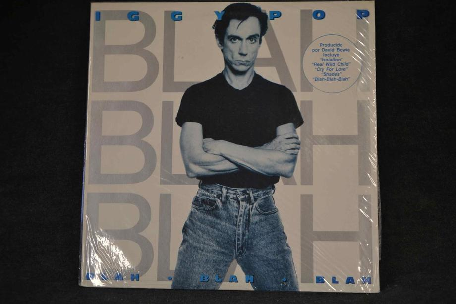 BLAH BLAH BLAH    Rare Argentina press with different sleeve,  Ex+