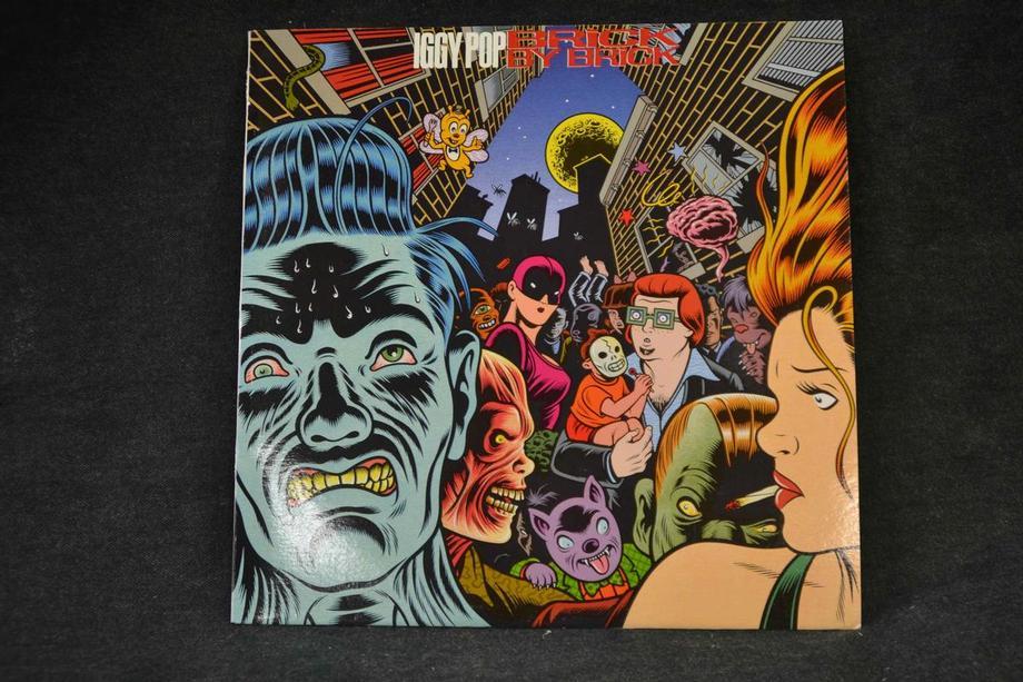 BRICK BY BRICK    Yellow vinyl UK Press, M-