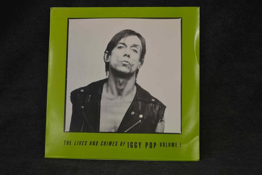 THE LIVES AND CRIMES OF IGGY POP VOLUME 1 Demos live 1979-83, Ex+