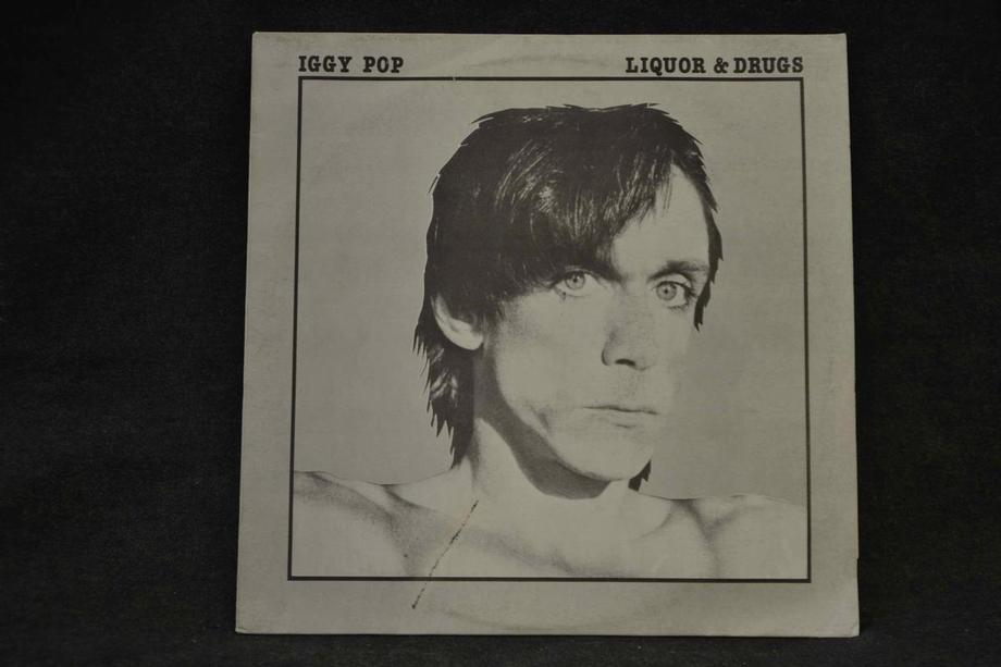 LIQUOR & DRUGS   Unreleased studio outtakes 1978-83 Grey cover First release Vg+