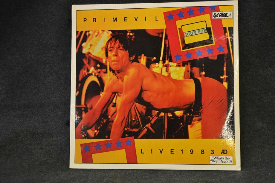 PRIMEVIL   Live Melbourne 1983 Mint-