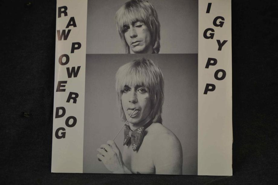 RAW POWER DOG     Live Santa Monica & San Diego 77 (not 78 as cover says)