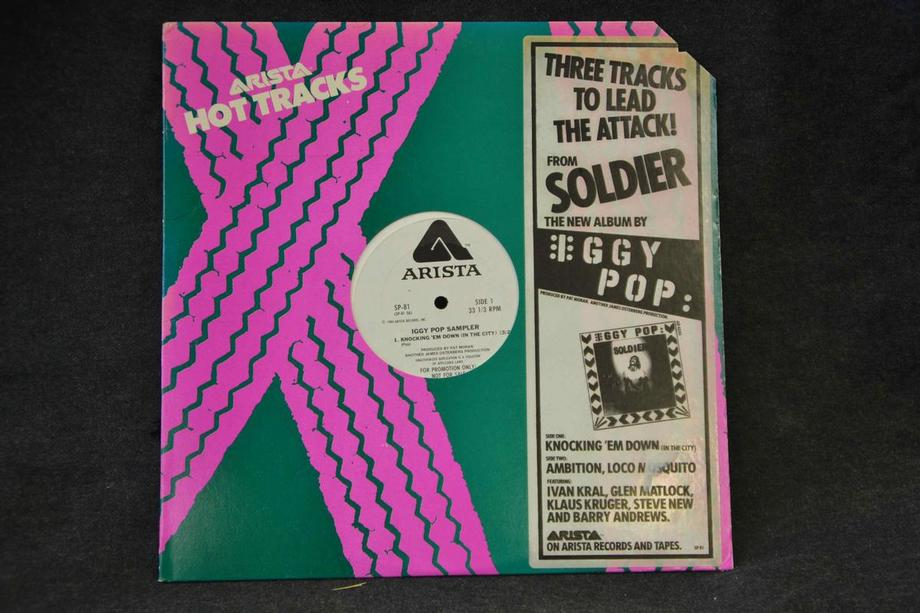 THREE ATTACKS TO LEAD THE ATTACK! Knocking em down / Ambition / Loco mosquito US Promo Ex- Co