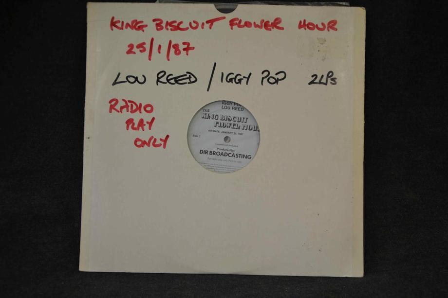 THE KING BISCUIT FLOWER HOUR SHOW #664 Live NYC/Philadelphia Three sided Radio Promo only cuesheets
