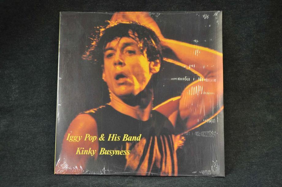 KINKY BUSYNESS    Live Zurich 1986, Rare 1987 press, Ex+