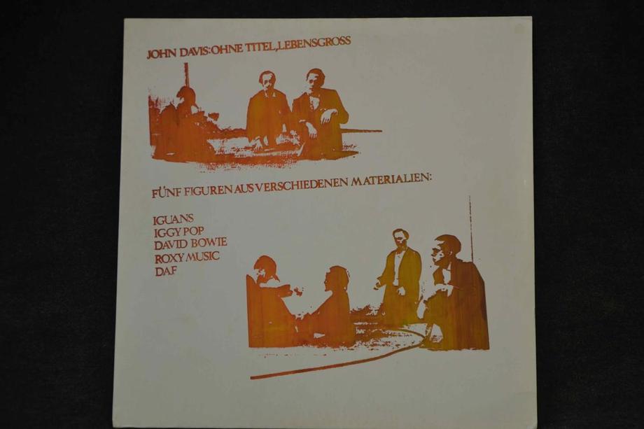 COMPILATION   David Bowie, Iggy Pop, Roxy Music , Iguanas, DAF Live studio Lim ed 1000 w insert, Rar