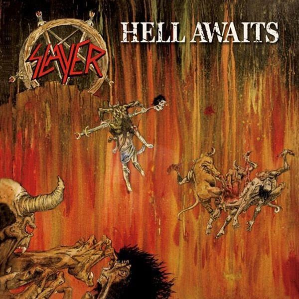 HELL AWAITS   180g black vinyl with original artwork