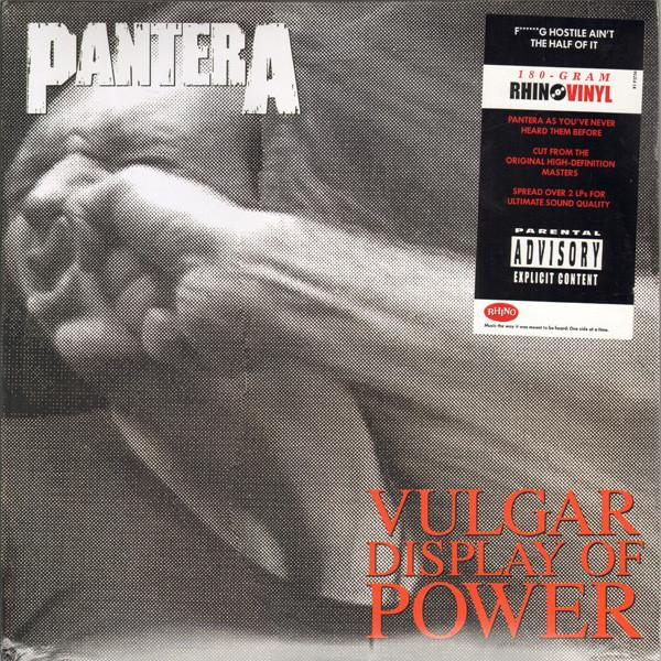 VULGAR DISPLAY OF POWER  Deluxe reissue