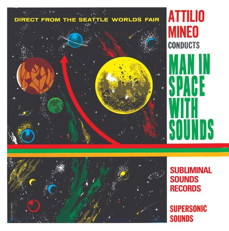 MAN IN SPACE WITH SOUNDS   Limited Edition