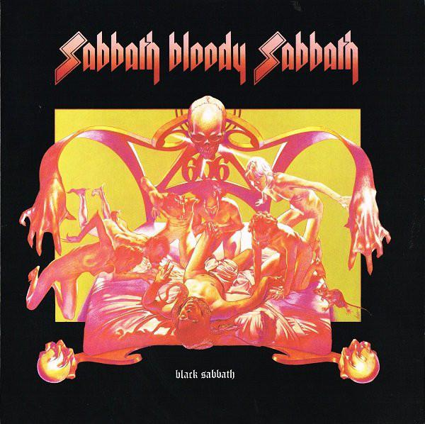 SABBATH BLOODY SABBATH    180g  Deluxe reissue