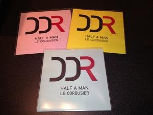 HALF A MAN/ Le Corbusier    Limited edition 150  numbered copies on vinyl only