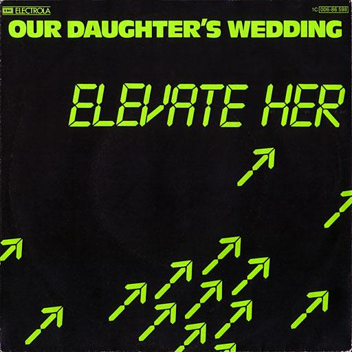 ELEVATE HER/Buildings   German original incl. promo info sheet, Classic cult minimal, synthpop,. rar