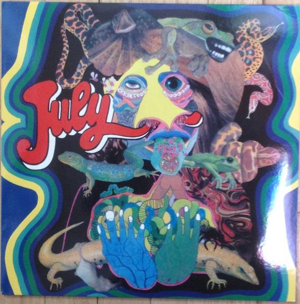 S/T  RSD 2014 reissue. Multicoloured vinyl