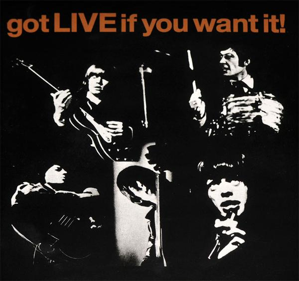 GOT LIVE IF YOU WANT IT EP  2014 RSD reissue