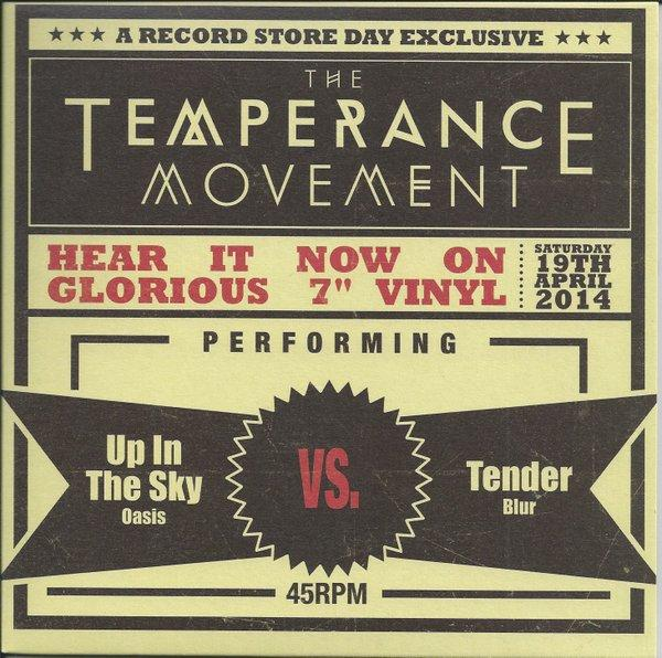 UP IN THE SKY (Oasis)/ Tender (Blur)  2014 RSD RELEASE