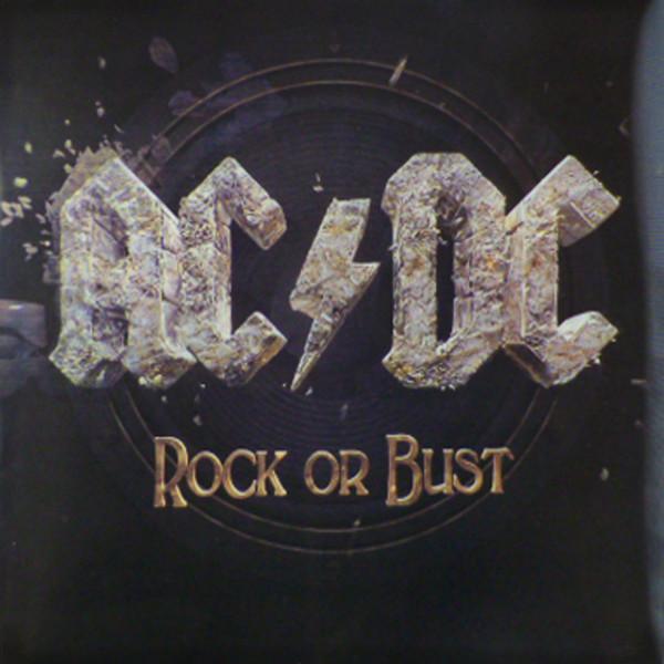 ROCK OR BUST  2014 Album on vinyl