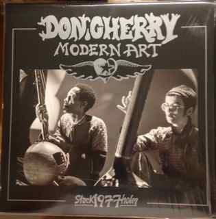MODERT ART     Black Vinyl,  Lim. Ed. 700 copies