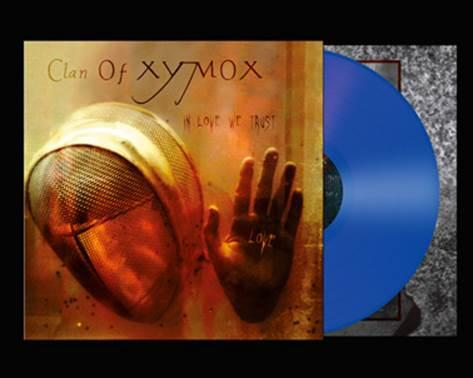 IN LOVE WE TRUST  Blue vinyl.