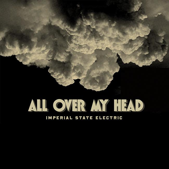 ALL OVER MY HEAD  Limited edition Black vinyl