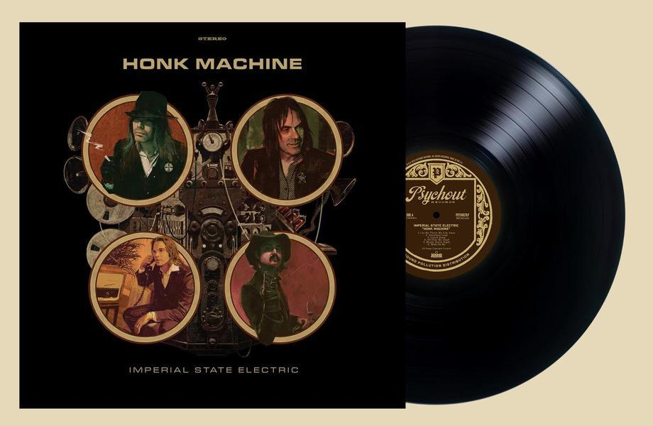 HONK MACHINE Black vinyl