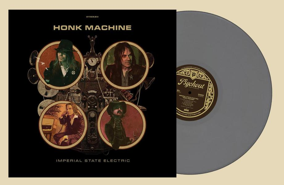 HONK MACHINE  Grey vinyl, 500 copies