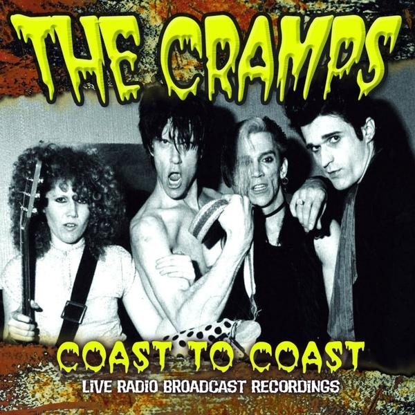 COAST TO COAST- Live Radio Bradcast Recording. Yellow vinyl