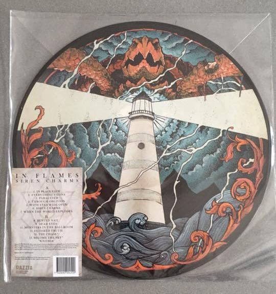 SIREN CHARMS  Picture disc, 2016 RSD