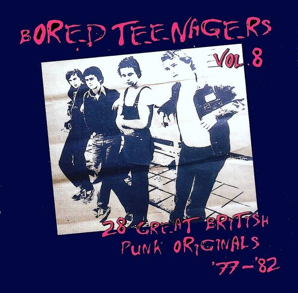 VOL.8 COMPILATION    Rare UK Punktracks 77-82, incl. great booklet