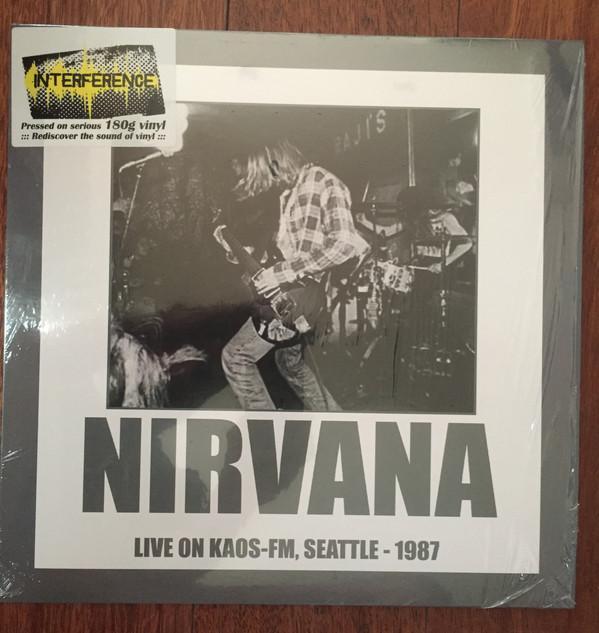 LIVE ON KAOS-FM SEATTLE 1987  180g. 2016 RSD release