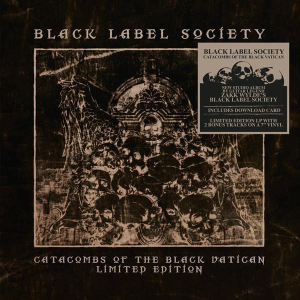 "CATACOMBS OF THE BLACK VATICAN  Lim.Ed with bonus 7"""